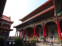 Chinese temple in Bangkok. Stock Footage
