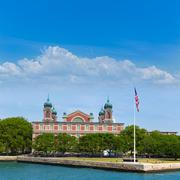 Ellis island immigration museum jersey city ny Stock Photos
