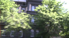 Budapest Old Building - stock footage