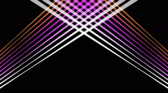 Stock Video Footage of fantastic video animation with moving stripe background design, loop hd 1080p