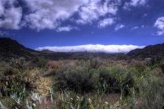 Cadelaria trail head sandia foothills timelapse Stock Footage
