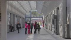 Huanshan spot warehouse - medium angle Stock Footage