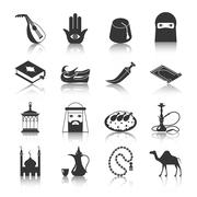 Arabic Culture Icon - stock illustration