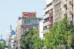 Coca-Cola Advertising Stock Photos