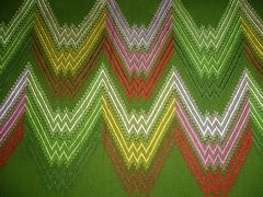 Tribal Green pattern Stock Photos