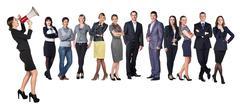 Recruitment agency Stock Photos