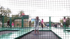Cannes Play Ground Stock Footage