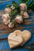 symbolic heart  for valentine's day - stock photo