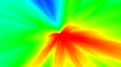 4k trippy explosive sickeningly colorful motion background Stock Footage
