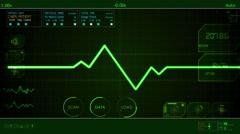 ECG EKG Electrocardiography Arkistovideo