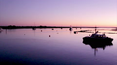 Algarve - Tavira - 4 Aguas Sunset B1 - stock footage