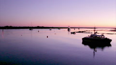 Algarve - Tavira - 4 Aguas Sunset B2 - stock footage