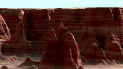 3D Canyonlands Animation Stock Footage