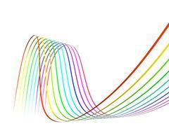 electronics industry background - stock illustration
