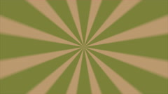 Retro Abstract Sunburst Background Pastel Green Blur - stock footage