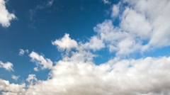 Movement of clouds  Stock Footage