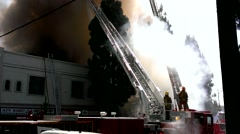 Burbank Fire Department Stock Footage