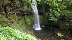 Glencar Waterfall, County Leitrim Stock Footage