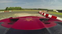 Ferrari 458 onboard 2 Stock Footage