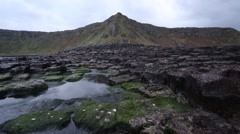 Giant's Causeway, Northern Ireland - stock footage
