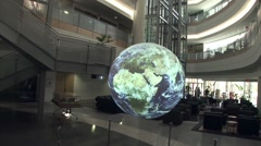 The National Weather Center in Norman Oklahoma. Stock Footage
