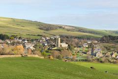 Abbotsbury village Dorset England UK on the Jurassic Coast Stock Photos