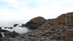 Giant's Causeway, Northern Ireland Stock Footage