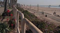 Huntington Beach Peir-10 Stock Footage
