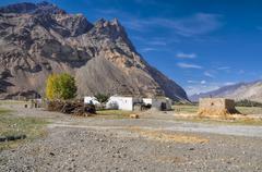 Hamlet in tajikistan Stock Photos