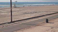 Huntington Beach Peir-17 Stock Footage