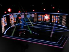 Stage Entertainment Tv Studio Set Design Piirros
