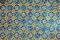 azulejos, traditional portuguese tiles - stock photo
