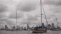 Cartagena Colombia Bay Stock Footage