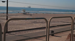 Huntington Beach Peir-30 - stock footage
