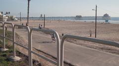 Huntington Beach Peir-38 - stock footage