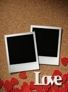 Polaroid style photo frame Kuvituskuvat