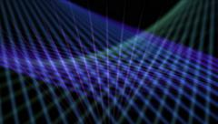 4k Abstract curve lines fantasy art background,universe space science fiction. Stock Footage