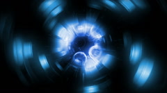 Deep Blue 004 Circles Combined 03 720p Stock Footage