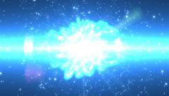 Start Trek Movie Intro with Flight Through Space Stock Footage