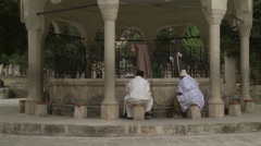 Dervishes in The Cleaning for Pray Stock Footage