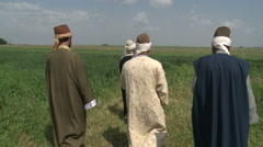 Sufis in County Stock Footage