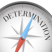 Compass determination Stock Illustration