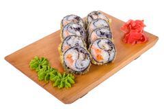 "Composition of sushi ""Yin-Yang"" Stock Photos"