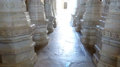 Ranakpur Temple 2 Stock Footage