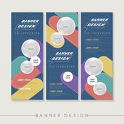 Stock Illustration of banner design template