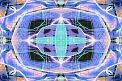 abstract graffiti pattern - stock illustration