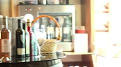 Bottles of wine Stock Footage