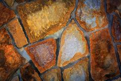 nice brickwork background - stock photo