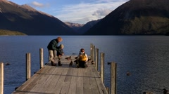Lake Rotoiti New Zealand Stock Footage