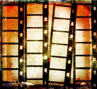 Grunge film background Piirros